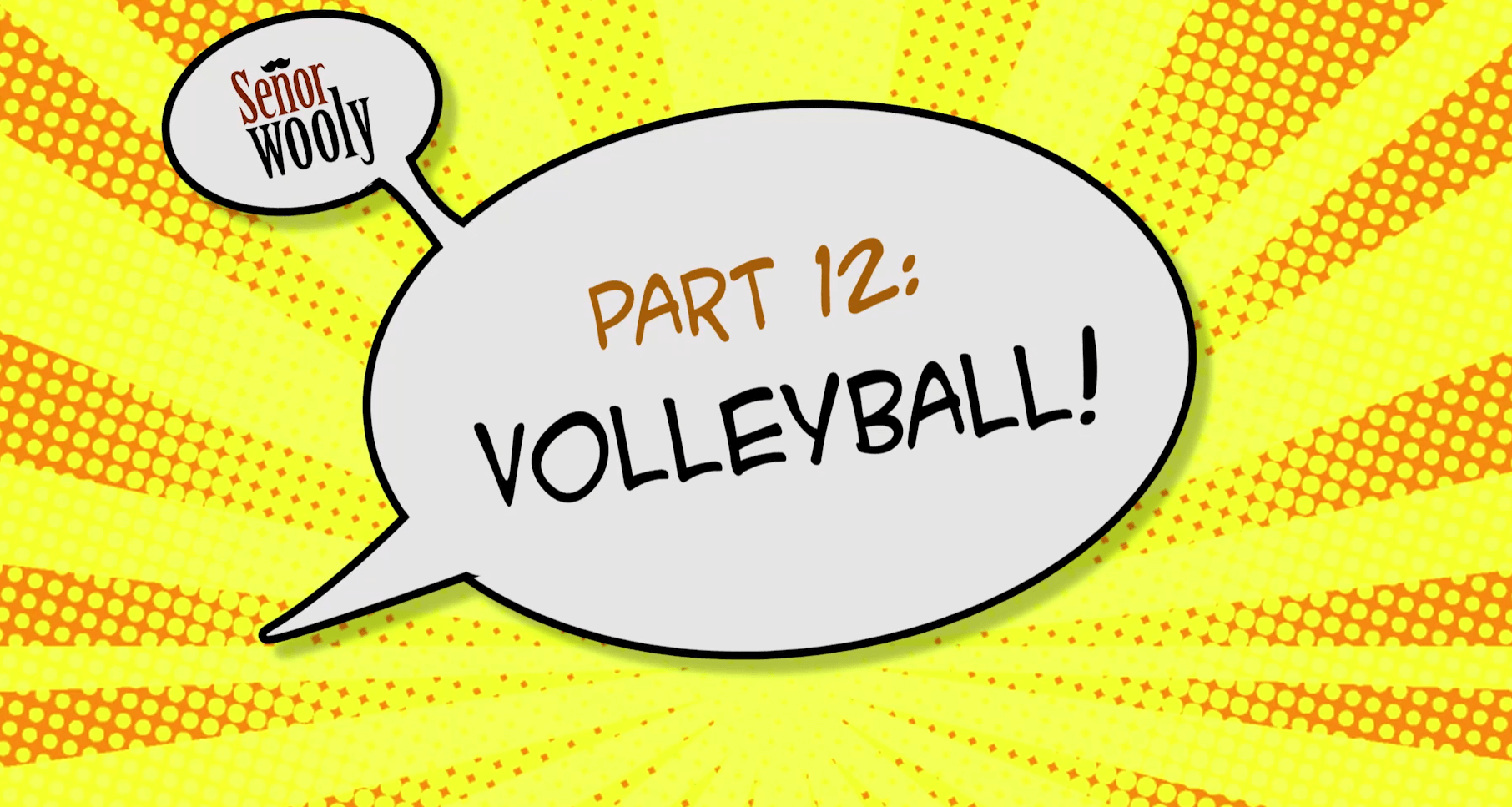 Part 12 - Volleyball!
